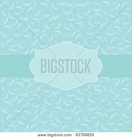 Vintage Card Design For Greeting Card, Invitation, Menu.