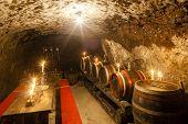 image of wine cellar  - wine cellar in Velka Trna - JPG