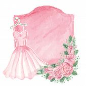 picture of bridal shower  - Cute retro  Card - JPG