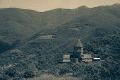 stock photo of armenia  - Photo of the Ancient monastery Tatev - JPG