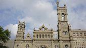 stock photo of mason  - The Masonic Temple in Philadelphia - JPG