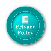 stock photo of policy  - Privacy policy icon - JPG