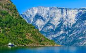 image of fjord  - Tourism vacation and travel - JPG