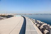 pic of marina  - The marina waterfront promenade in Valencia - JPG