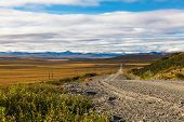 picture of chukotka  - The stones road in Chukotka Tundra - JPG