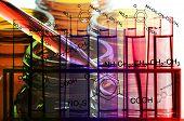 stock photo of paracetamol  - Background of Laboratory Testing for New Drug Development - JPG