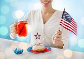 foto of independent woman  - independence day - JPG