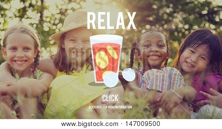 Relax Summer Rest Relaxation Chill Concept