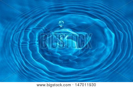 Water Drop Impact On The Water Surface Befit With Background,backdrop,wallpaper,display For Your Pro