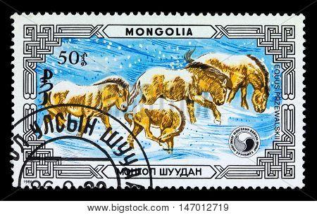 Mongolia - Circa 1986