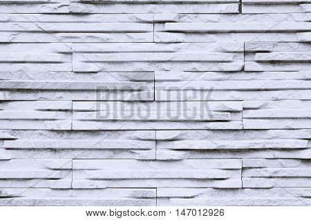 Background of white stone texture modern wall.