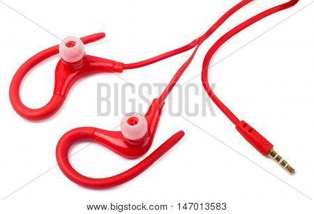 Earphones for sport isolated d d d