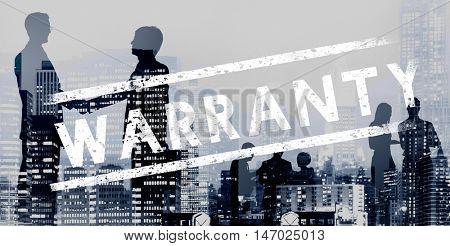 Warranty Guarantee Certificate Assurance Promise Concept