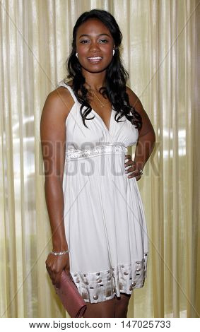 Tatyana Ali at the Step Up Women's Network 2008 Inspiration Awards Luncheon held at the Beverly Wilshire Hotel in Beverly Hills, USA on April 30, 2008.