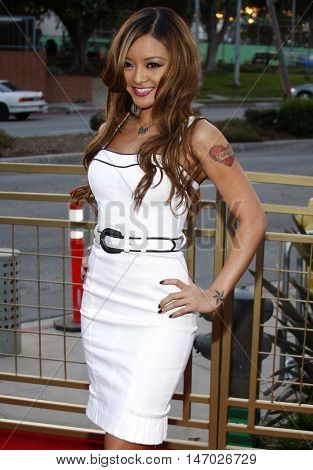 Tila Tequila at the LG Electronics' (LG) Launch of the