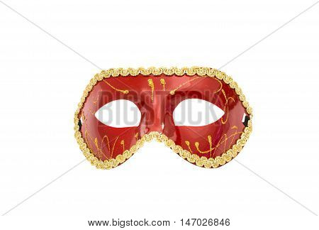 masquerade mask carnival on a white background