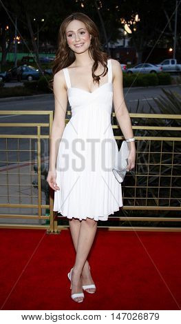 Emmy Rossum at the LG Electronics' (LG) Launch of the