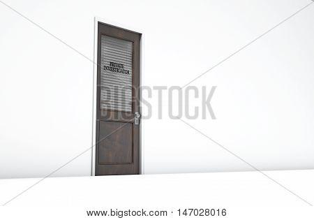 Door In Private Eye Room
