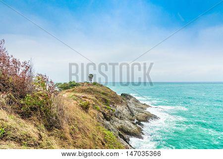 Phromthep Cape - Sea view point in Phuket Thailand