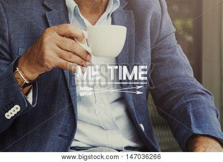 Business People Freetime Coffee Beak Concept