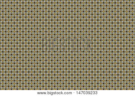 intricate background pattern with rhombus style shapes