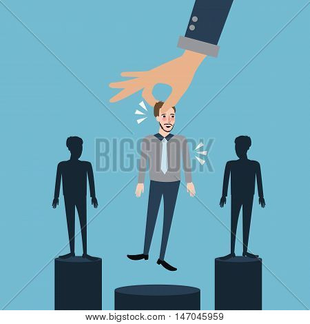 select best employee hire selection process remove fired employee vector