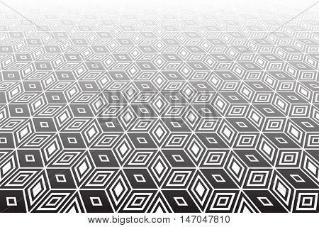 Abstract  op art geometric background.