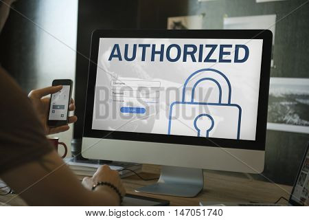 Authorized Accessibility Network Security System Concept