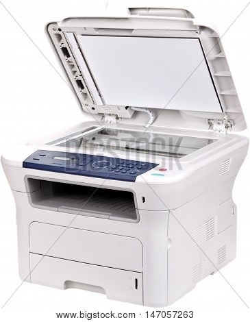 Printer with Scaner and Fax - Isolated