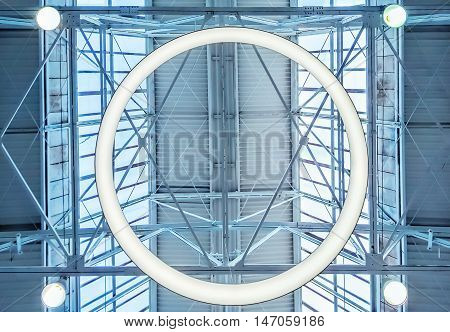 Skylight window or abstract architectural background. Architecture