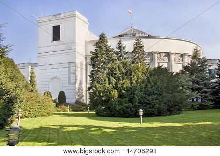 Polish parliament.