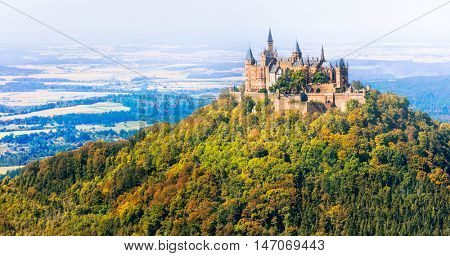 Most beautiful castles of Europe - Hohenzoller. Germany