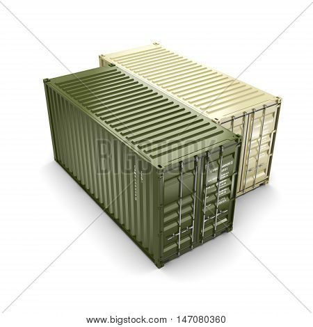3D Rendering Container