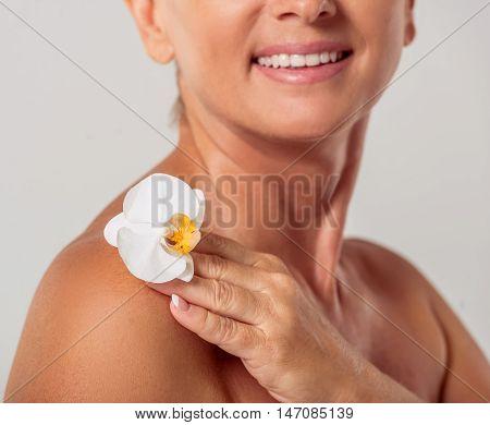 Beautiful Middle Aged Woman