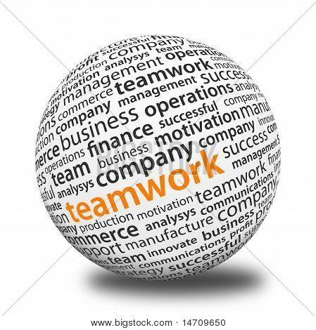 Word Ball - Teamwork