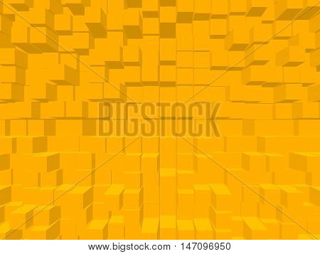 Minimalism texture in the form of squares background wallpaper style form view Illustration
