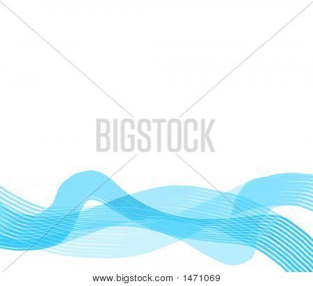 Blue Ribbon Wave