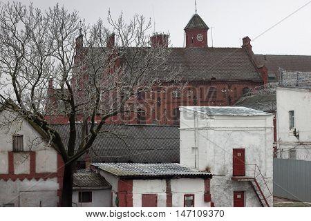 Medieval Teutonic castle Tapiau in the Gvardeysk. Kaliningrad region. Russia.
