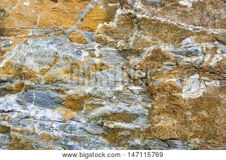 stone texture background Orange and gray surface