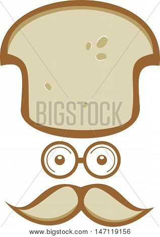 logo mister senior chef bread cafe restaurant