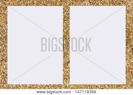 picture frame form Abrasive sand , object