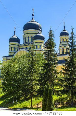 domes of  church in Suruchensky convent, Kishinev, Moldova