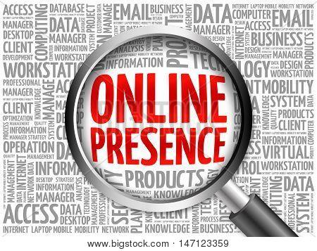 Online Presence Word Cloud