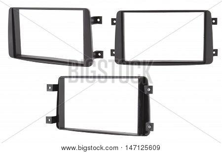Car double DIN navigation frame, 2 DIN
