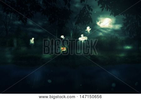 Halloween Night Gate