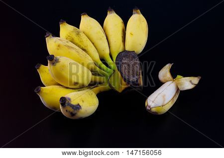 The banana is a fruit that has a nutritional value to the body.