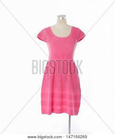 female sundress clothing on dummy