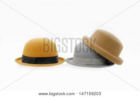 Three woman hat