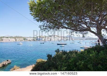 Boats On Turquoise Mediterranean