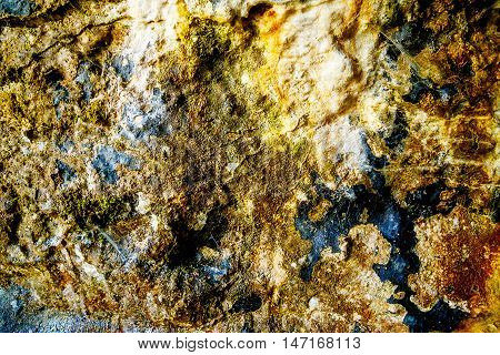Color structure rock background. Old wall structure
